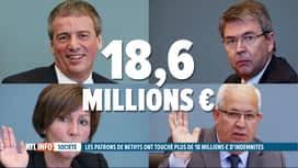RTL INFO 19H : Les ex-patrons de Nethys ont touché 18,6 millions € de compensations