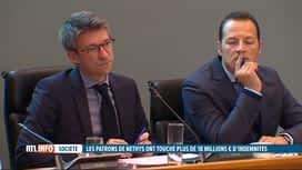 RTL INFO 19H : Compensations chez Nethys: que va faire le gouvernement wallon?