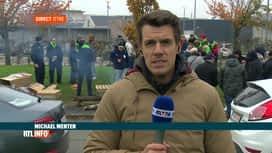 RTL INFO 13H : La grève se poursuit à la prison d'Ittre