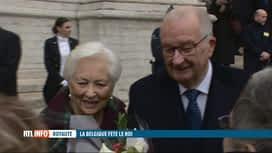 RTL INFO 13H : La famille royale assiste au Te Deum pour la fête du Roi