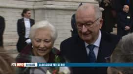 RTL INFO 19H : Nos anciens souverains ont assisté au Te Deum pour la fête du Roi