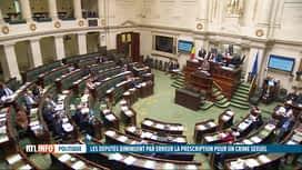 RTL INFO 13H : Important oubli sur le délai de prescription des graves crimes sexuels