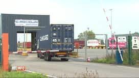 RTL INFO 13H : Huit migrants découverts dans un camion réfrigéré à Zeebruges