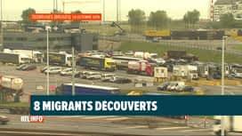 RTL INFO 19H : Enquête sur la découverte de migrants dans une cargaison à Zeebruges