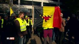 RTL INFO 19H : Les gilets jaunes célèbrent leur 1er anniversaire à Namur