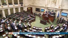 RTL INFO 19H : La prescription pour les graves crimes sexuels est passée à 10 ans
