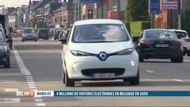 RTL INFO 13H : Le nombre de voitures électriques devrait exploser d'ici 2050
