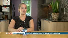RTL INFO 19H : Abus sexuels sur mineurs : le courageux témoignage d'une jeune femme