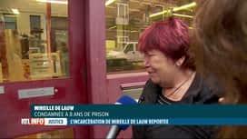 RTL INFO 19H : Mireille De Lauw n'a pas pu entrer en prison cet après-midi