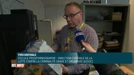 RTL INFO 19H : Zoom sur la lutte de la police contre la pédopornographie