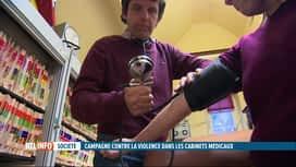 RTL INFO 19H : 8 médecins sur 10 ont déjà été confrontés à la violence