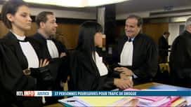 RTL INFO 13H : Ouverture d'un procès pour trafic de drogue à Charleroi