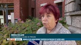RTL INFO 13H : Mireille De Lauw devrait intégrer la prison de Berkendael ce mardi