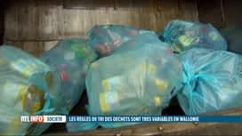 """RTL INFO 13H : La collecte des déchets """"PMC"""" change en Wallonie"""