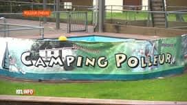 RTL INFO 19H : Des demandeurs d'asile hébergés dans le camping de Polleur (Theux)