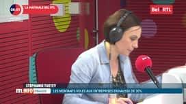 RTL INFO sur Bel RTL : RTL Info 8h du 21/11