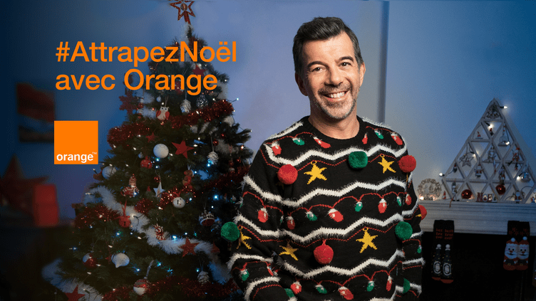 #AttrapezNoël avec Orange