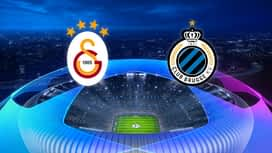 Champions League : 26/11 : Galatasaray - FC Bruges