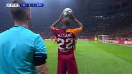 Champions League : Galatasaray - FC Bruges : 1ère mi-temps