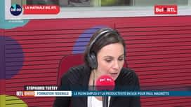 RTL INFO sur Bel RTL : RTL Info 8h du 27/11