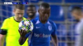 Champions League : 27/11: Genk - Salzbourg : 2ème mi-temps