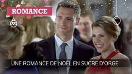 Une romance de Noël en sucre d'orge en replay