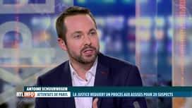 RTL INFO 19H : Attentats de Paris: l'enquête du parquet anti-terroriste est terminée