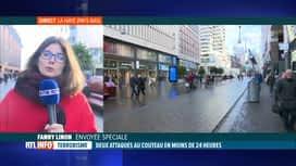 RTL INFO 13H : Mineurs poignardés à La Haye : le suspect toujours en fuite