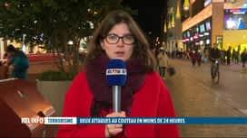 RTL INFO 19H : Mineurs poignardés à La Haye : le suspect toujours en fuite
