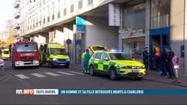 RTL INFO 19H : Un homme et sa fille retrouvés morts dans un appartement à Charleroi