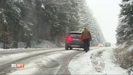 RTL INFO 19H : La neige est de retour sur les hauteurs du sud du pays