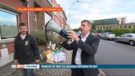 RTL INFO 19H : FDF-DéFI: retour sur les 25 ans de présidence d'Olivier Maingain