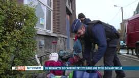 RTL INFO 13H : Evacuation d'une école de Marcinelle après la détection de CO