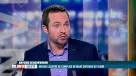 RTL INFO 19H : Michel Lelièvre est libre; quid de la procédure concernant Dutroux ?