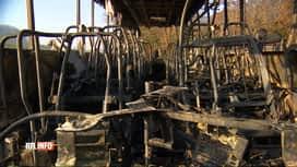RTL INFO 13H : Incendie d'un autocar scolaire à Limal ce matin