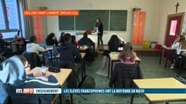 RTL INFO 13H : Les élèves francophones sont toujours aussi mauvais en lecture