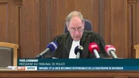 RTL INFO 19H : Catastrophe de Buizingen: verdict du procès de l'accident de train