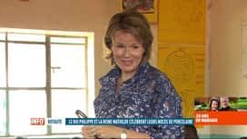 RTL INFO 13H : La reine Mathilde est présidente d'honneur d'UNICEF Belgique