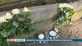 RTL INFO 13H : Un garçon de 10 ans est décédé, renversé par une camionnette à Ixelles