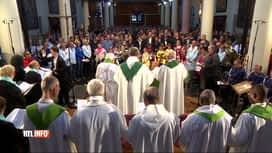 RTL INFO 13H : Un Belge sur 2 se dit catholique selon le rapport annuel de l'Eglise