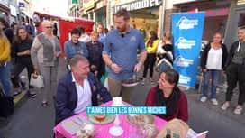 Food Contact : Au marché de Jodoigne, et dans une mercerie