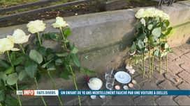 RTL INFO 19H : Un garçon de 10 ans est décédé, renversé par une camionnette à Ixelles