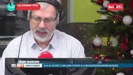 RTL INFO sur Bel RTL : RTL Info 18h du 05/12