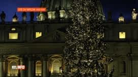 RTL INFO 13H : La crèche et le sapin de Noël sont installés au Vatican