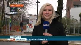 RTL INFO 13H : Saint-Nicolas s'est rendu à l'hôpital des enfants Reine Fabiola