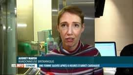 RTL INFO 13H : Une Espagnole survit après un arrêt cardiaque de 6 heures