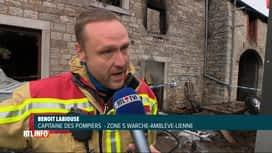 RTL INFO 13H : Un habitant d'Aywaille a mis le feu à sa maison, au retour d'une fête