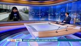 RTL INFO 13H : Grève en France: le point à Lille avec Justine Roldan Perez