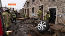 RTL INFO 19H : Un habitant d'Aywaille a mis le feu à une maison, après une fête
