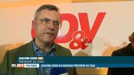 RTL INFO 19H : Joachim Coens devient le président du CD&V